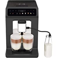 Krups EA895N Kaffeevollautomat Evidence One | One-Touch-Cappuccino | Doppel-Tassen-Funktion | 12 Getränkespezialitäten…