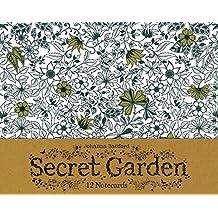 Secret Garden: 12 Notecards by Johanna Basford (4-Aug-2014) Cards