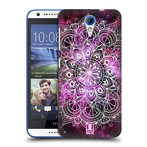 Head Case Designs Nebelfleck Mandala Doodle Ruckseite Hülle für HTC Desire 620/620 Dual SIM