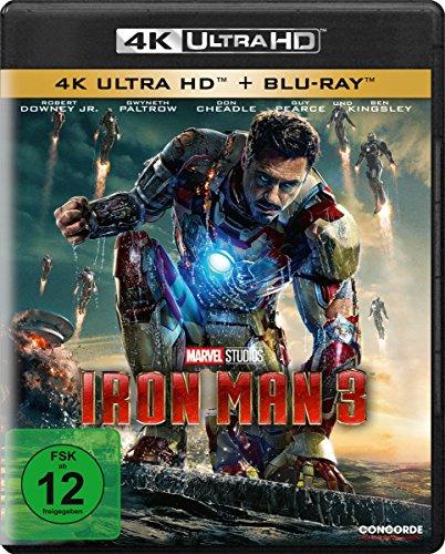 Iron Man 3  (4K Ultra HD) (+ Blu-ray)