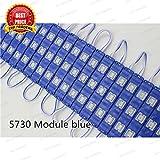 TRP TRADERS BLUE 3 LED Module, DC 12V Waterproof Module lens High Glow Light Strip LED-20 Modules