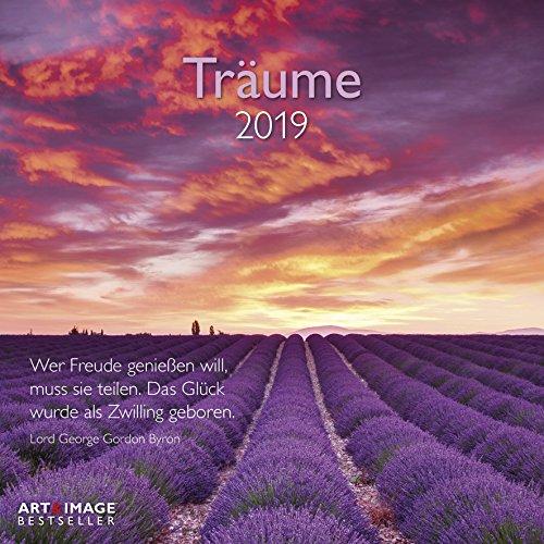 Träume 2019 - Landschaftskalender, Ruhe und Inspiration, Entspannung  -  30 x 30 cm