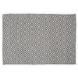 Sealskin 294213614 Badteppich Trellis, Farbe: Grau, 90 x 60 cm