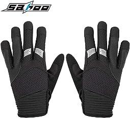 Delicacydex Winter Outdoor Männer Frauen Vollfinger Sport Radfahren Fahrrad Handschuhe Winddicht Warm Anti-Slip Motorrad Bike Handschuhe Halten