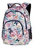 Prime Schulrucksack Rucksack 27 L BASIC PLUS Bag Backpack Schmetterlinge Butterflies [006]