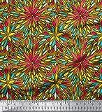 Soimoi Baumwollgewebe 60 GSM Mosaik-Druck 58 Zoll breit