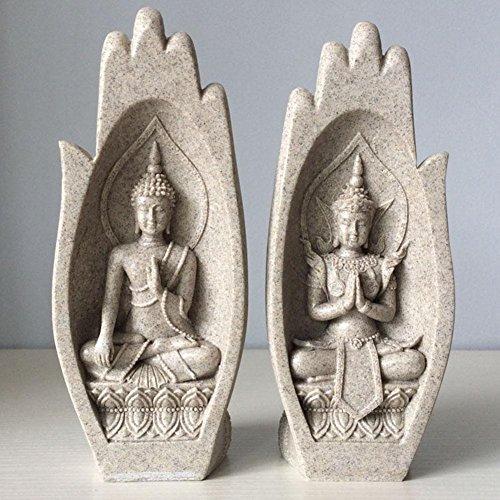 Europäische Studie Home Handwerk Ornamente Creative Buddha Soft Home Dekoration Sandstein Kunsthandwerk Geschenke , Sand color