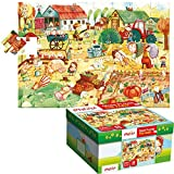 Lisciani 52479 - Giant Puzzle The Farm, Riesenpuzzle