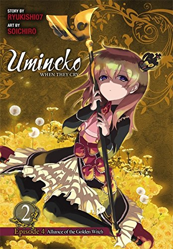 Umineko WHEN THEY CRY Episode 4: Alliance of the Golden Witch, Vol. 2 por Ryukishi07