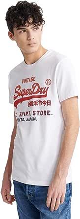 Superdry Men's Vl Fade T_Shirt Store Tee