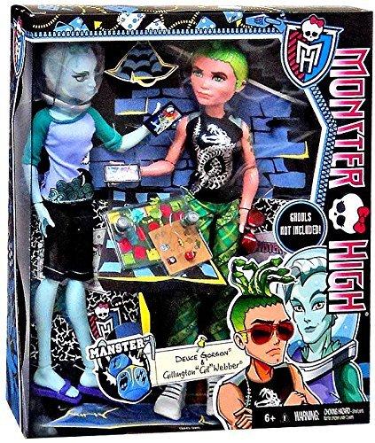Monster High - Deuce Gorgon y Gil Webber