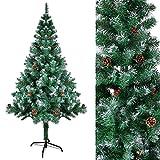 SunJas Weihnachtsbaum mit Tannenzapfen