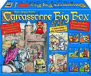 Carcassonne Big Box - Grundspiel & 9 Erweiterungen