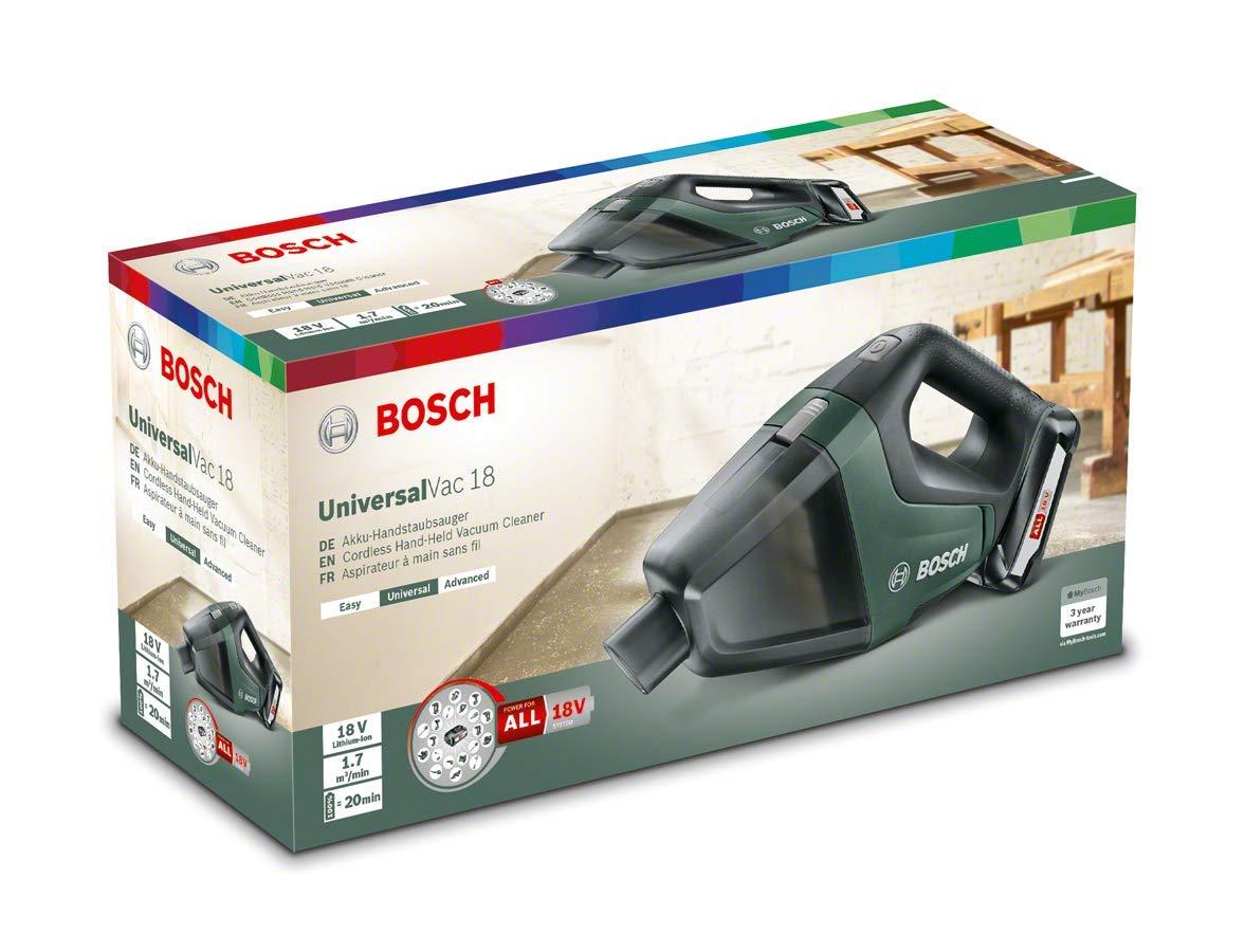 Bosch Akku Staubsauger UniversalVac 18 (18 Volt Sytem, im Karton)