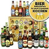 Bier kalt stellen ist auch irgendwie kochen   Adventskalender Bier   Biere aus aller Welt