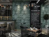 Reyqing Antike Persönlichkeit Metall Eisen Vlies Tapete Restaurant Cafe Bar Hintergrund Wand Tapeten, Bronze Farbe, Tapete Nur