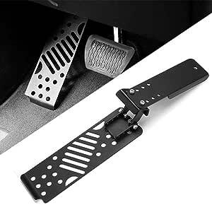 Dingln Metall Auto Linke Seite Fu/ßablage Pedal Anti-Rutsch-Auflage-Fits for J-E-E-P Wrangler JK