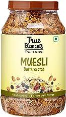 True Elements Butterscotch Muesli 1000gm