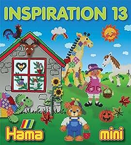 Hama - 399-13 - Loisirs Créatifs - Livre Inspiration n°13 - Perles à Repasser Mini - 68 Pages