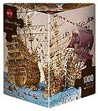Heye 29570 - Dreieckspuzzle, Francois Ruyer, Corsair, 1000 Teile