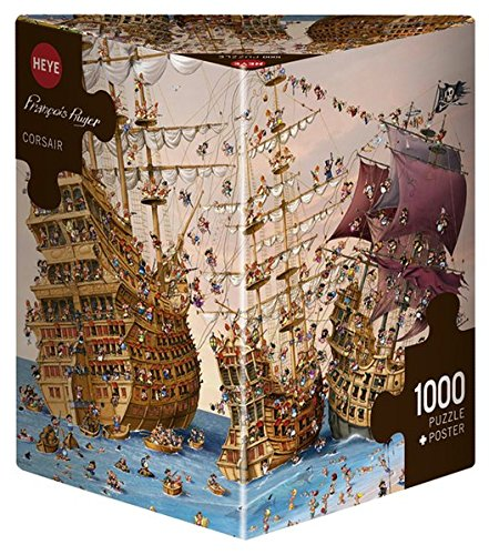 Heye 29570 - Corsari, Puzzle 1000 Pezzi, Multicolore