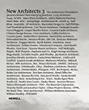 New Architects 3: Britain's Best Emerging Architects (Architecture Foundation)