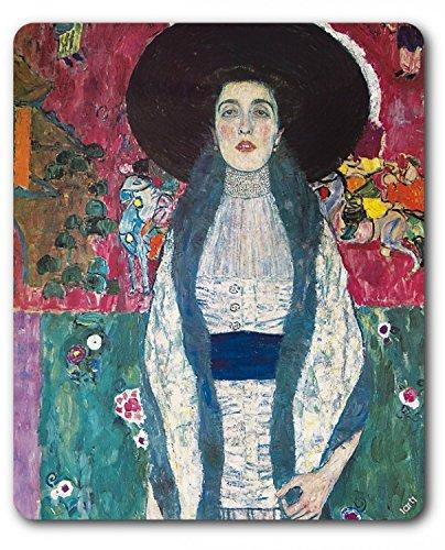 Preisvergleich Produktbild 1art1 89784 Gustav Klimt - Adele Bloch Bauer, 1912 Mauspad 23 x 19 cm