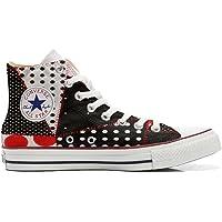 Scarpe Sneakers Personalizzate (Uomo/Donna) Originali Hi Canvas, Sneaker Unisex (Prodotto Artigianale) Continuity…