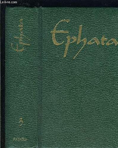 Ephata, tome 1 par Collectif