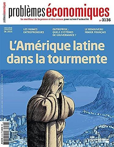 Problèmes économiques, n° 3136 : Amerique latine