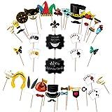 Accessoires de fête Alice au pays des merveilles – Tenez des panneaux pour les chapelier fous – Grand lot – Fournitures de fê