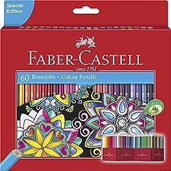 Faber-Castell - lápices de colores (Pack de 60)