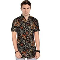 Brand Chief Men's Cotton Digital Printed Half Sleeve Shirt