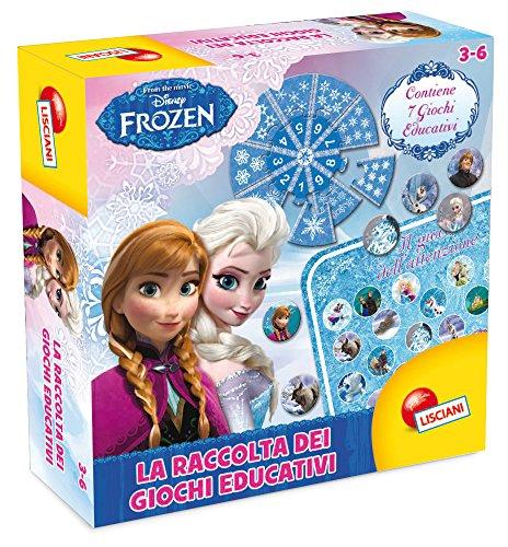 Lisciani Giochi- Disney Frozen Raccolta di Giochi Educativi, 46799