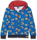 Super Mario Bros Ragazzi Felpa con cappuccio - blu - 140