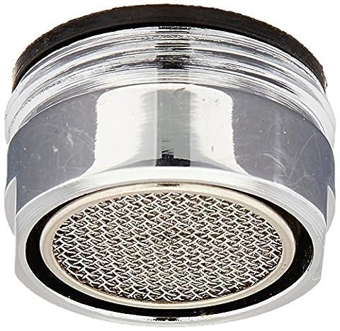 KES PA6A-P Aérateur de rechange fileté pivotant à 360° et économiseur d'eau pour robinet Chromé poli, argent