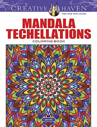 Creative Haven Mandala Techellations Coloring Book (Creative Haven Coloring Books)