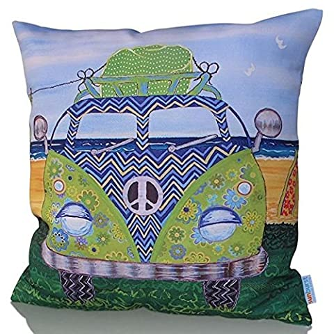 Outdoor Living jolies soleil marocain décoratif Couvre-lit décoratif Housse de coussin Taie d'oreiller canapé, lit, canapé ou Patio–Étui uniquement, sans insert, Polyester, Kombi, 45,7 cm x 45,7 cm