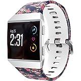 erthome Uhrenarmbänder, Watchband Replacement Ersatz Armband Sport Mode Muster Silikon Armband Armband Ersatz für Fitbit Ionic