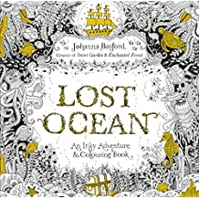 lost ocean an inky adventure colouring book - Colouring In Book
