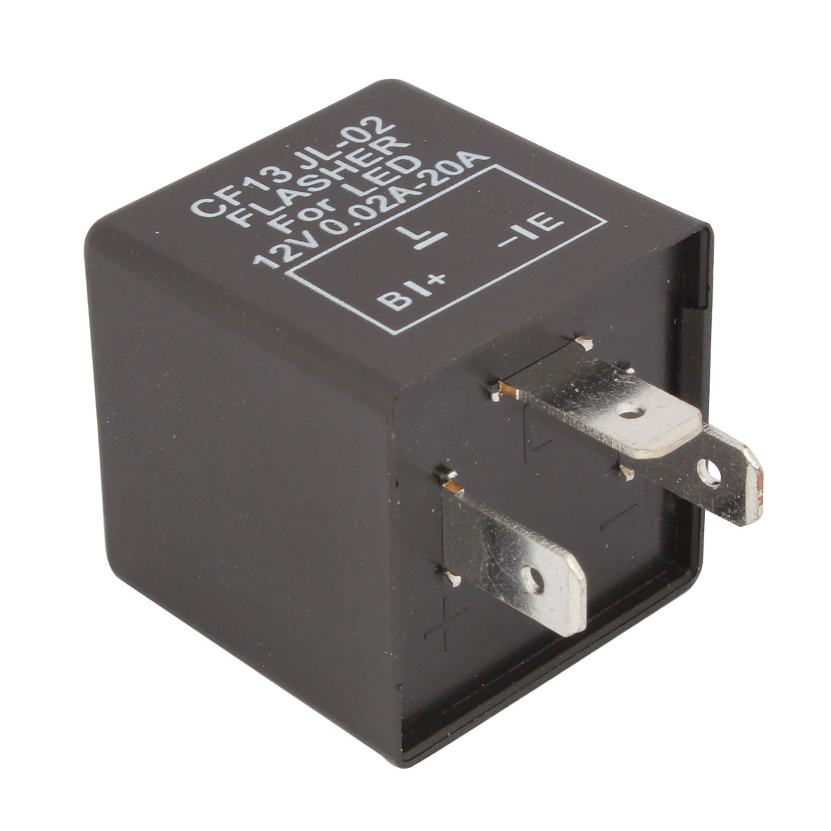 4bc2b80f0d1 Amazon ES TOMALL 3Pin LED Señales intermitentes Electronic Flasher Intermitente  Relé CF13 JL-02 EP34 para LED