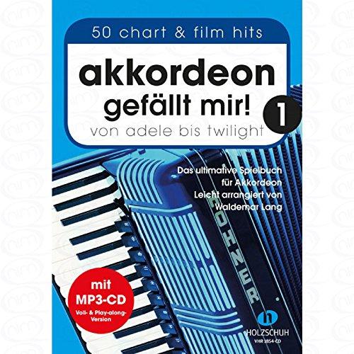 Akkordeon gefaellt mir 1 - arrangiert für Akkordeon - mit CD [Noten/Sheetmusic]