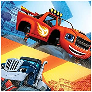 Blaze and the Monster Machines - Servilletas, pack de 20 unidades (Amscan 9901355)