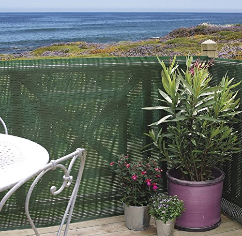Ecran de jardin occultant à 80 % Nortene jardin - Longueur 25 m - Hauteur 1,2 m