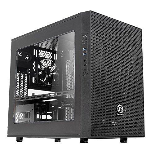 Thermaltake CA-1D6-00S1WN-00 Cube Case Core X1 schwarz - Gehäuse-kühlsystem