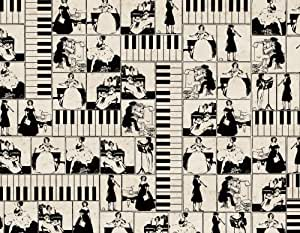 Tassotti Piano Wrapping Paper by Tassotti