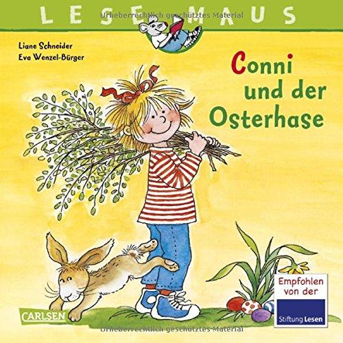 lesemaus-band-77-conni-und-der-osterhase-mit-zwei-tollen-conni-osterpostkarten
