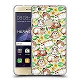 Offizielle Micklyn Le Feuvre Meerschweinchen Und Gänseblümchen Und Aquarell Muster 2 Soft Gel Hülle für Huawei P8 Lite (2017)
