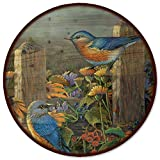 WGI-GALLERY Linda 's Bluebirds Lazy Susan, 45,7 cm