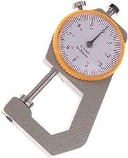 Segolike Precision Dial Pocket Flat Head Thickness Gauge Gage Measuring Tool 0-20mm